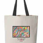 NAAAP canvas tote