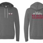 NAAAP dark gray hoodie